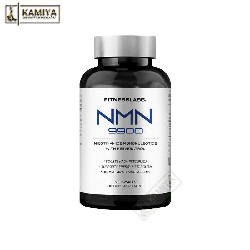🇺🇸美國FitnessLabs肌魔實驗室 美國NMN9900進口β-煙酰胺單核苷酸 60顆