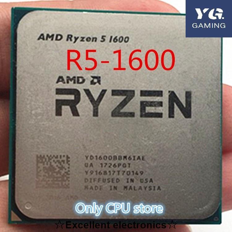 Amd Ryzen 5 1600 R5 1600 3.2 Ghz 六核 Cpu Processoe Yd1600Bbm6