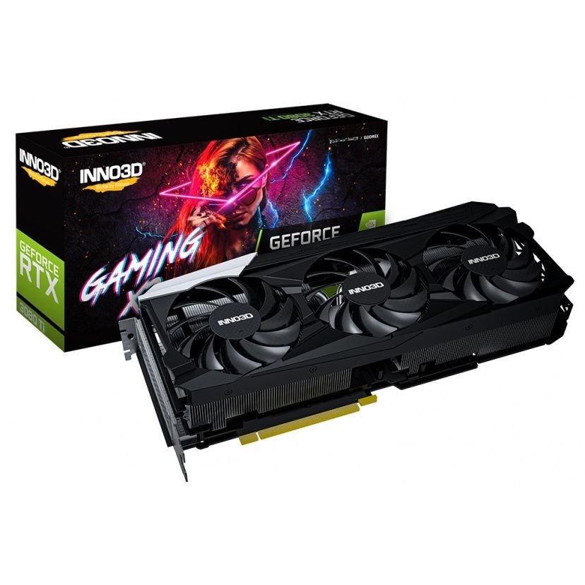 現貨速發 映眾(Inno3D)GeForce RTX 3080Ti Gaming X3版/12GB/GDDR6X/LHR