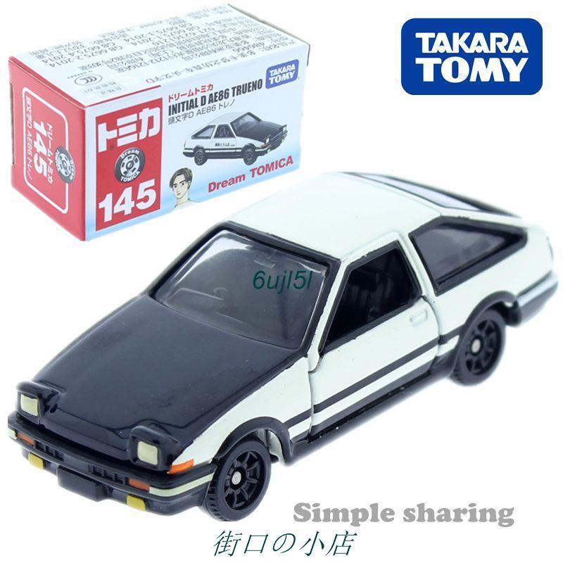 【現貨】TOMY多美卡合金車模型TOMICA145號豐田AE86頭文字D藤原拓海賽車*6ujl5l