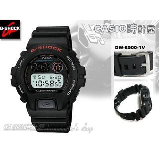 cheap for discount b2948 69a3f CASIO時計屋 G-SHOCK DW-6900-1V 防水200米 型男愛用復古款 電子錶 男錶 DW-6900