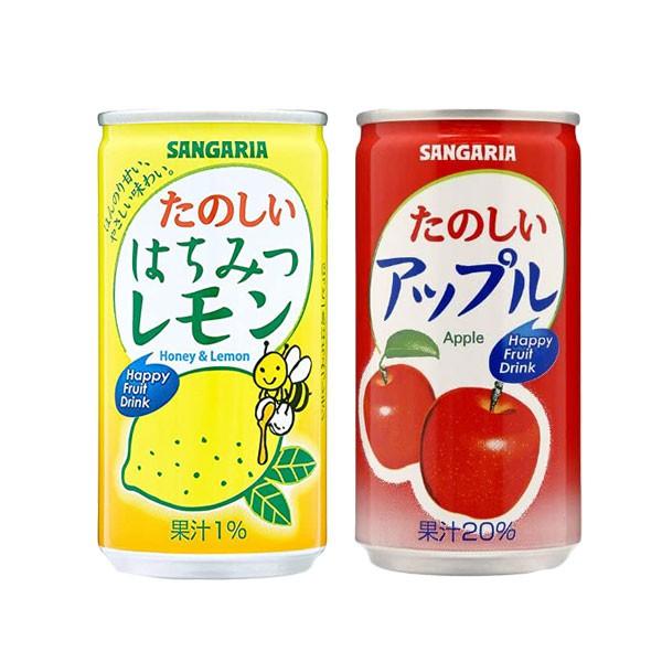 日本 SANGARIA 田園果汁飲料 190g 果汁 飲料