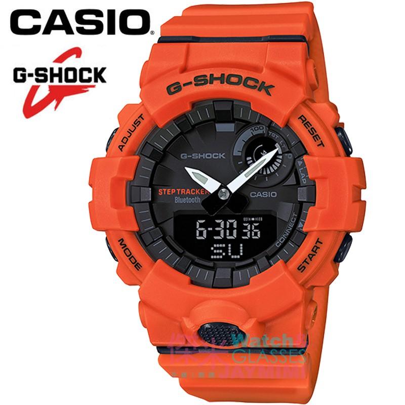【JAYMIMI傑米】CASIO_G-SHOCK 全新原廠公司貨 藍牙連動智慧 GBA-800- #GBA-800-2A