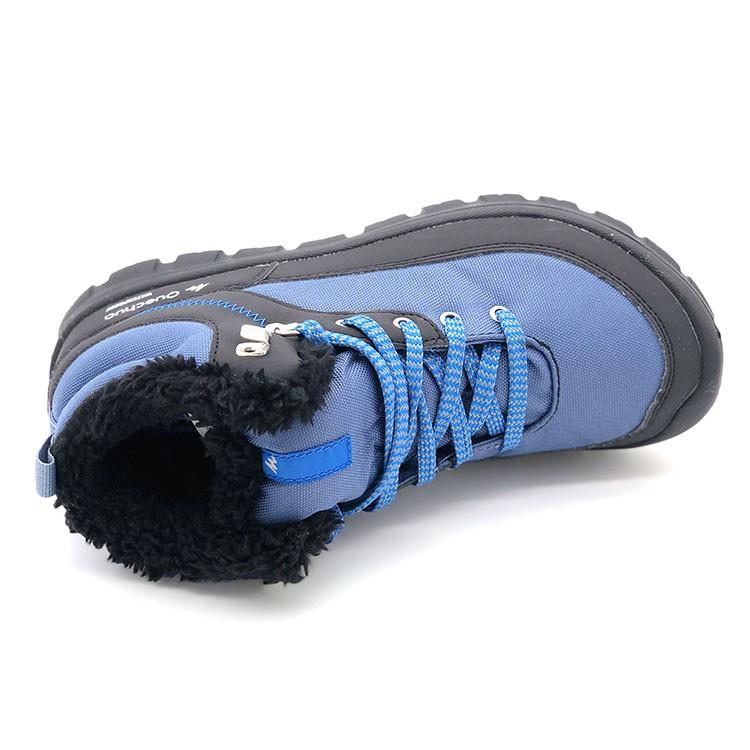 ✜♣✑迪卡儂青少年兒童秋冬冬季徒步防水保暖加絨雪地鞋登山鞋運動鞋