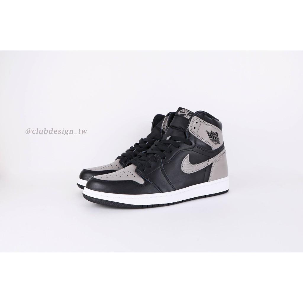 098882f0cfe NIKE AIR Jordan 1 Retro shadow 影子555088-013 bred toe 紅頭