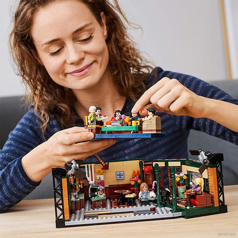 ✥臺灣現貨 樂高 玩具 LEGO樂高21319 10292 創意美劇老友記經典重現男女孩積木玩具禮物