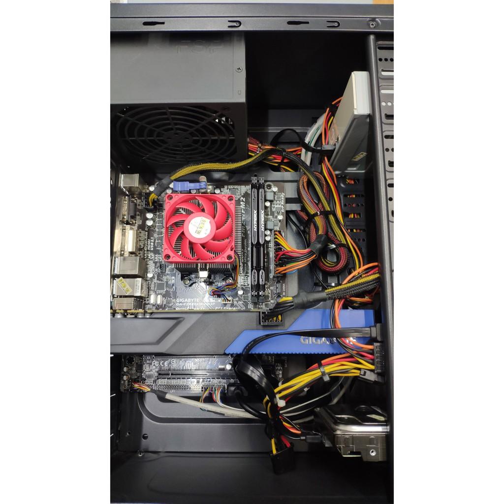 二手良品主機 A8-7650K /DDR3-1866 超頻記憶體 16GB/ 技嘉 GTX970