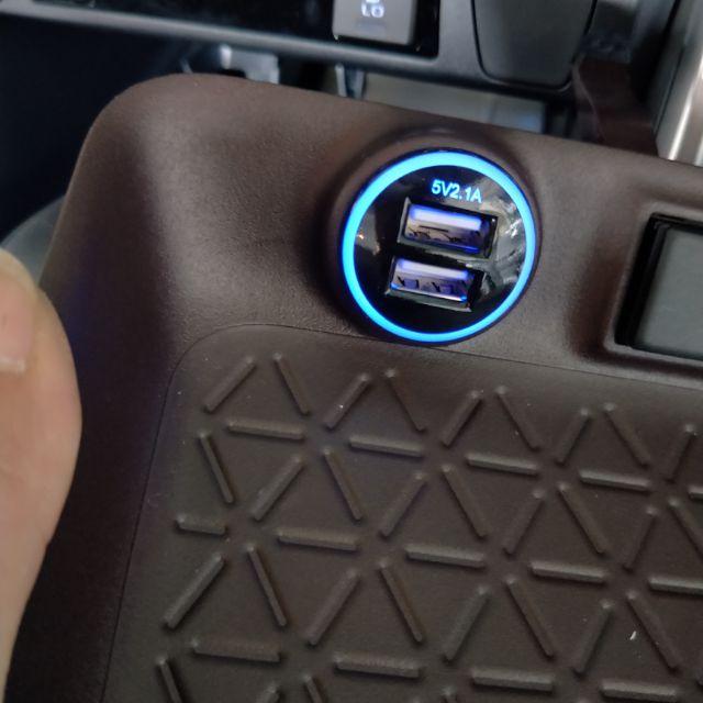 Rav4五代專用USB 充電雙孔 原廠車美式
