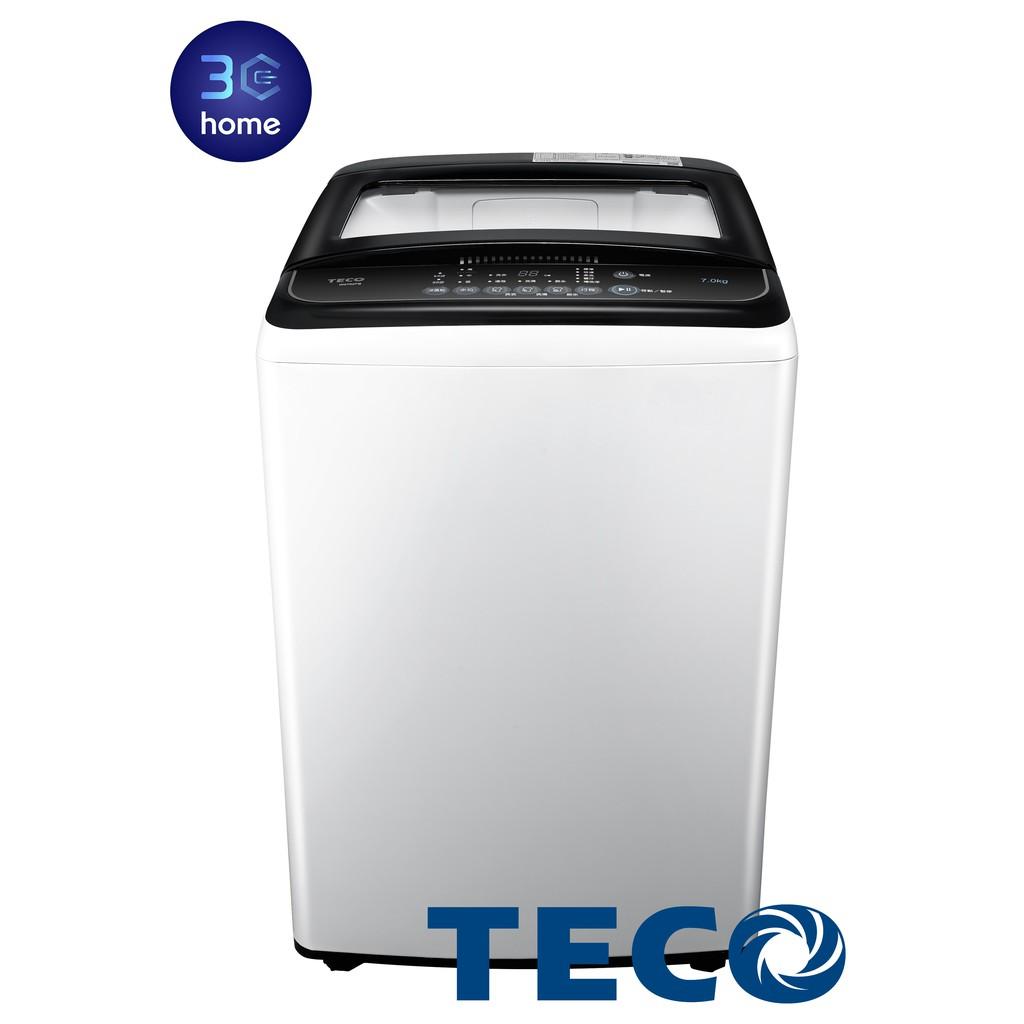 東元TECO 超窄機體定頻洗衣機 7公斤 W0702FB