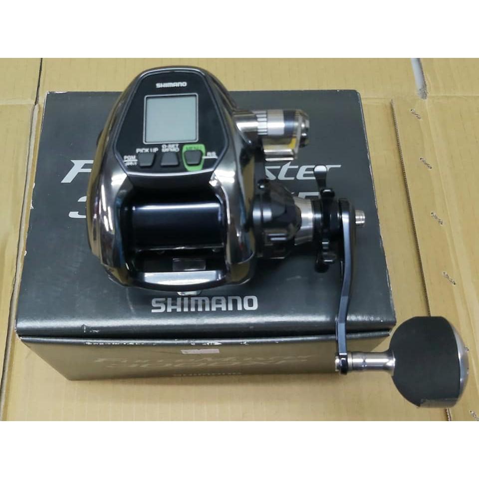 基隆玖玖 SHIMANO電動捲線器 Force Master  3000XP 講究力度與速度的兩種款項