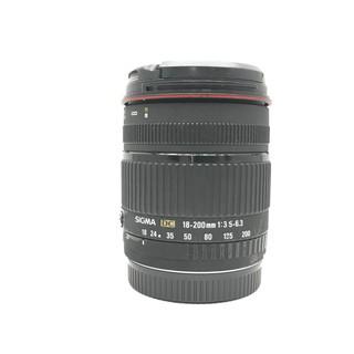 Canon 佳能用 SIGMA DC 18-200mm F3.5-6.3 旅遊鏡頭 APS-C (三個月保固) 臺北市