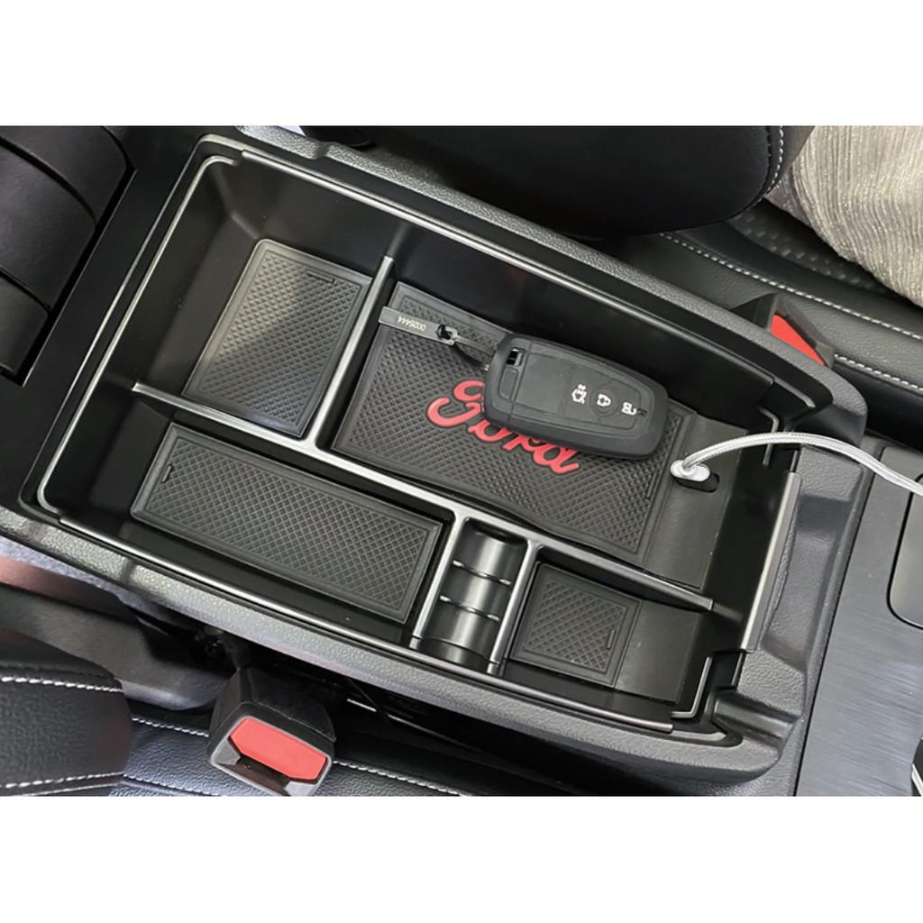19-21福特 FORD FOCUS MK4 Active 中央扶手箱置物盒 中央扶手置物槽 中央置物