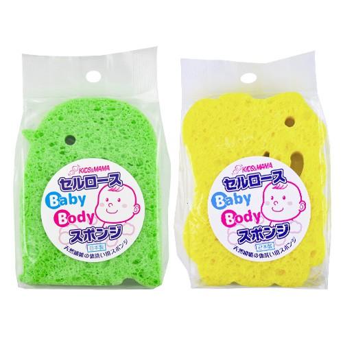 日本 KIDS & MAMA 嬰幼兒沐浴海綿 1入 小羊/企鵝【BG Shop】2款可選