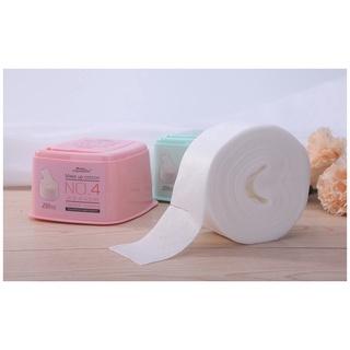 小孩子家 盒装抽取式化妆棉250抽卸妆棉 卸甲棉片 B0153