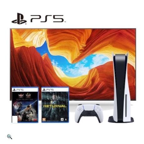 PS5 光碟版 主機 電視 X9000H 55吋 組合禮包  有分現金轉帳與網購下單