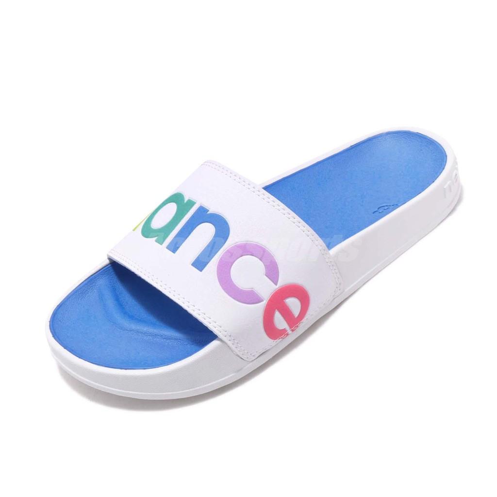 New Balance 拖鞋 NB SWF200A1 B 白 彩色 基本款 女鞋 男鞋 SWF200A1B【ACS】