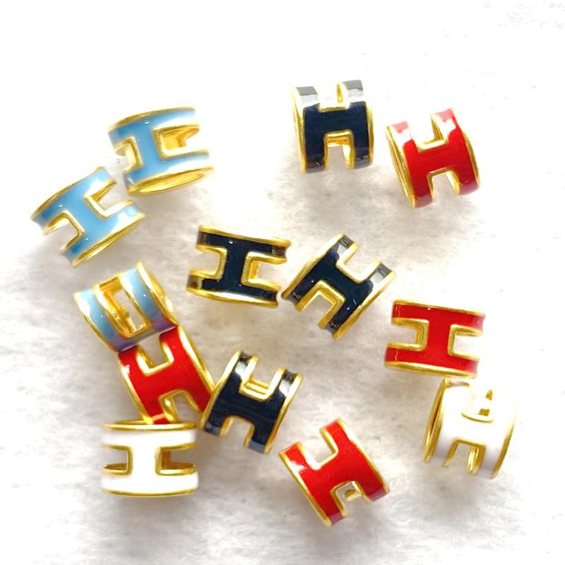 9999純金 黃金墜子 H字母 約0.02-0.03錢 多色可選 黃金項鍊 黃金手繩 黃金項鍊DIY 英文字母 金喜飛來