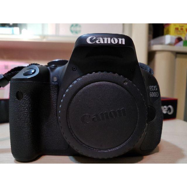 二手 Canon 600D 過保公司貨單機身 body only