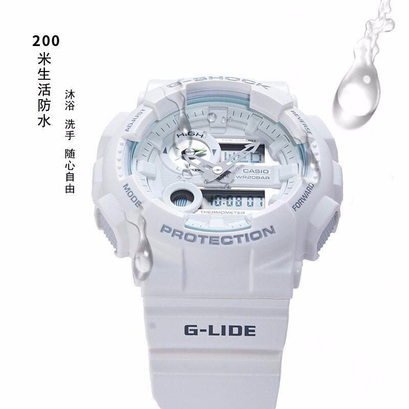 防水防磁潮汐顯示運動錶GAX-100B-1A卡西歐漫威聯名手錶男G-SHOCK 4X9W