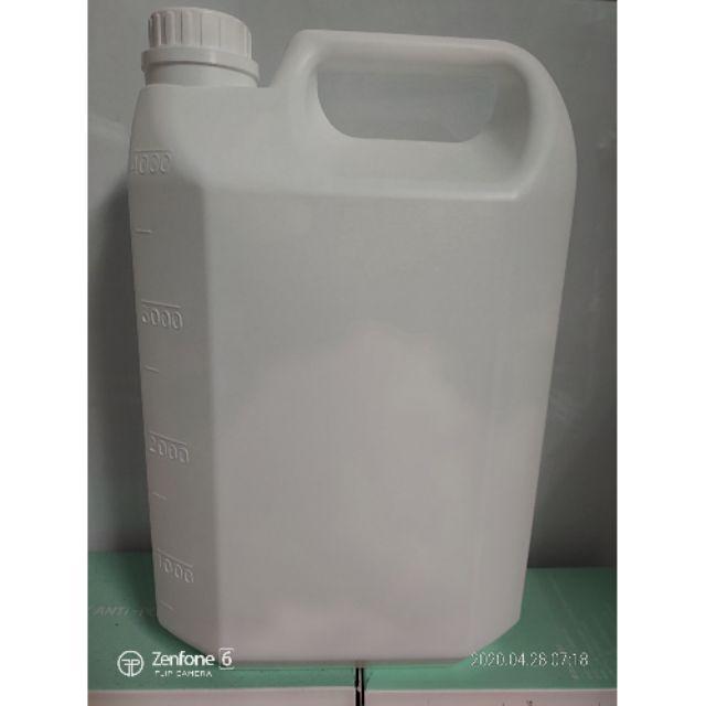 免運費~蝦皮最便宜 4公升 台糖 75% 乙醇 酒精 4000cc 2號HDPE瓶罐裝