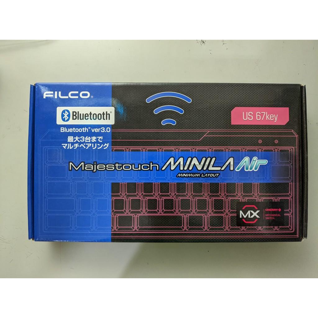 FILCO majestouch Minila Air 藍芽鍵盤 茶軸 67鍵