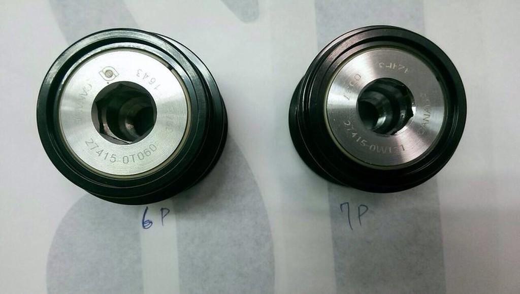 正廠 豐田 TOYOTA WISH 04 CAMRY 02 06 INNOVA (7PK) 發電機軸承 單向軸承 可詢問