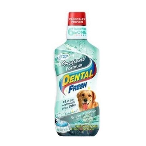 美國Dental Fresh《犬用-潔牙液(原味版)》8oz『WANG』