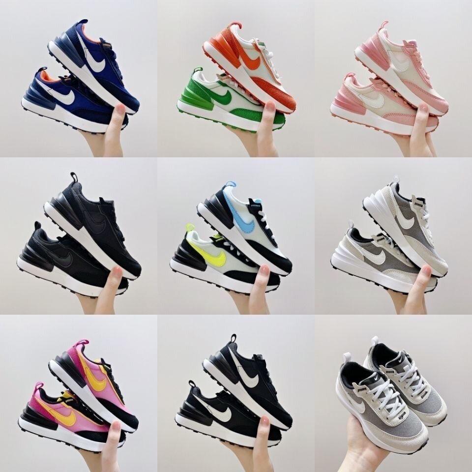 新款 耐吉童鞋 Nike WAFFLE ONE 華夫三代兒童運動鞋 休閒鞋 鬆緊帶 寶寶學步鞋 大童抽繩跑步鞋 男女童鞋