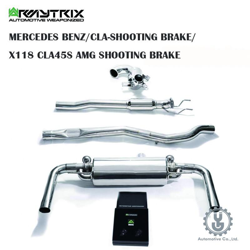 Armytrix BENZ/CLA-SHOOTING BRAKE/X118 CLA45S AMG 排氣 空運【YG】