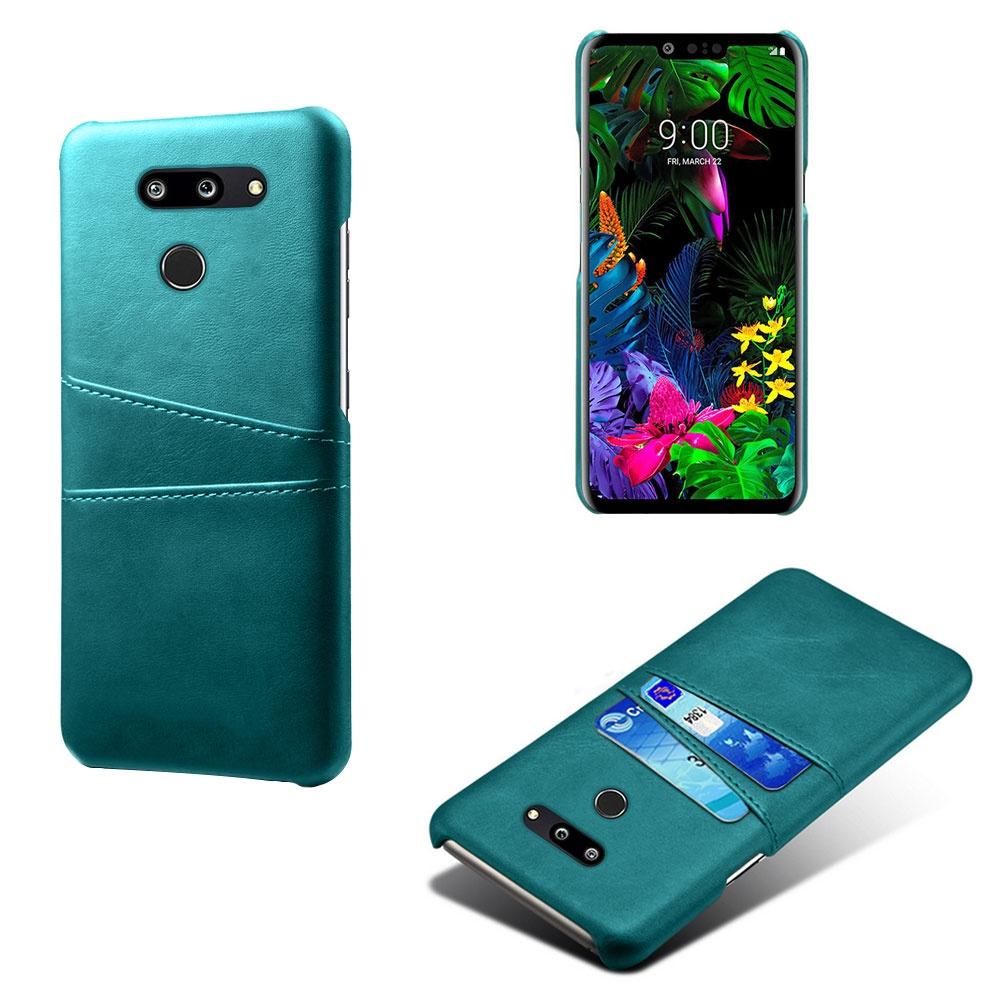 優選 手機殼▬適用LG G8雙攝美版手機殼插卡皮質lg g8thinq商務防摔保護套外殼