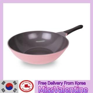 [NEOFLAM] Eela 粉紅色炒鍋 (26cm /  30cm)