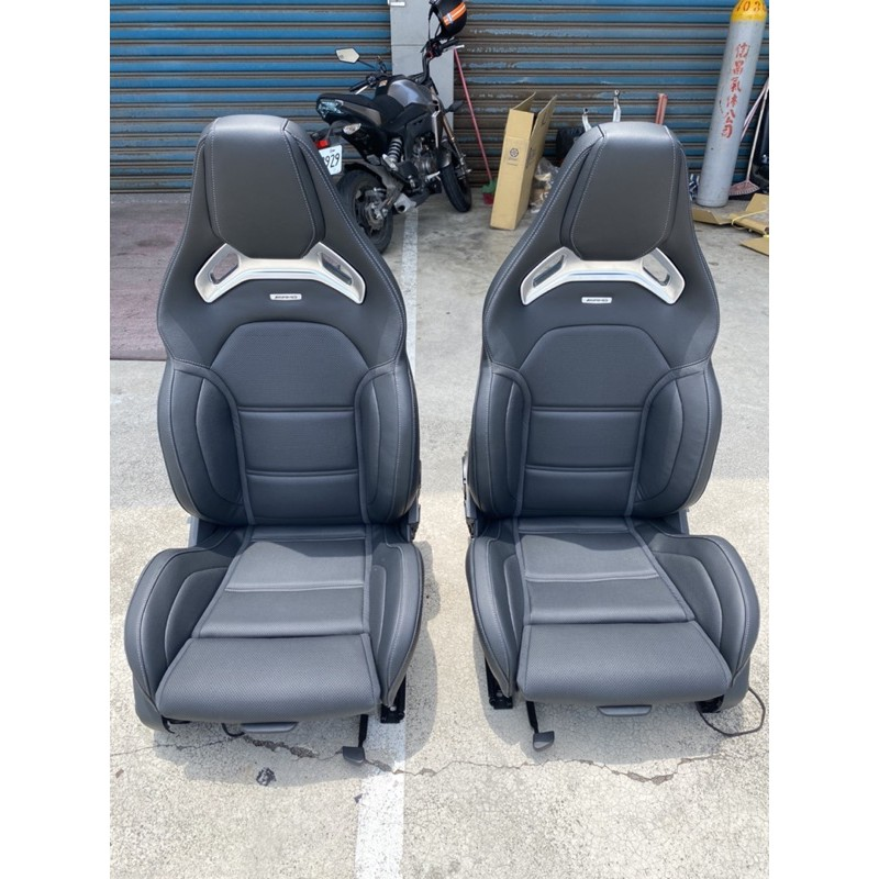AMG賽車椅 蝴蝶椅 w205 w213 x253 無損安裝c63c43c300c250蝴蝶椅(全新)