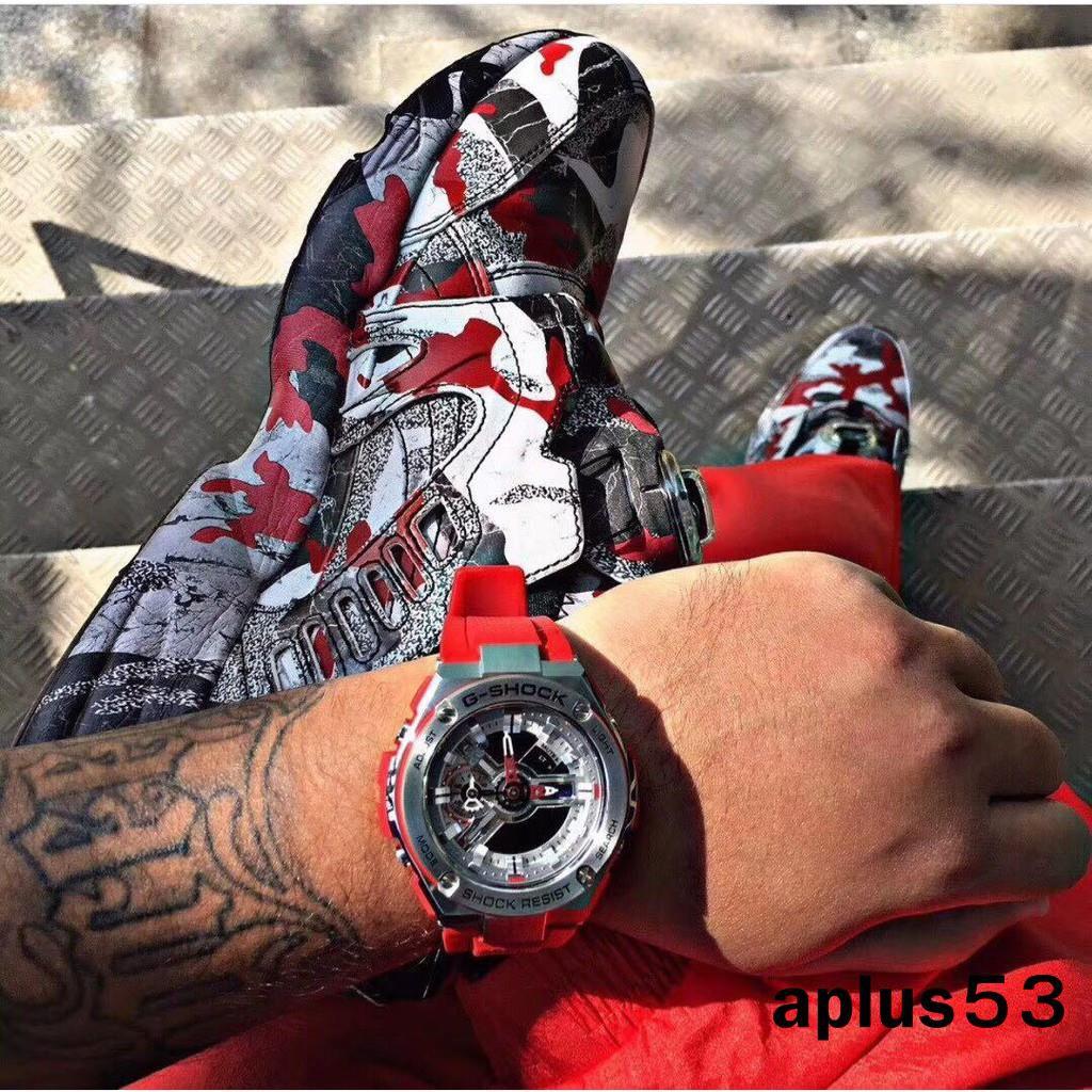 CASIO(卡西歐) G-shock.T400系列 指南針功能,溫度計,45度自動抬手燈,防震防水,世界時間,倒計時手錶