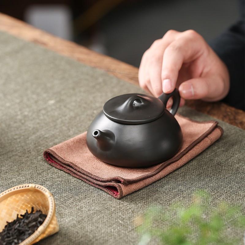 【茶香】宜興茶壺紫砂壺純手工單人西施壺石瓢壺功夫茶具家用茶壺茶杯套裝