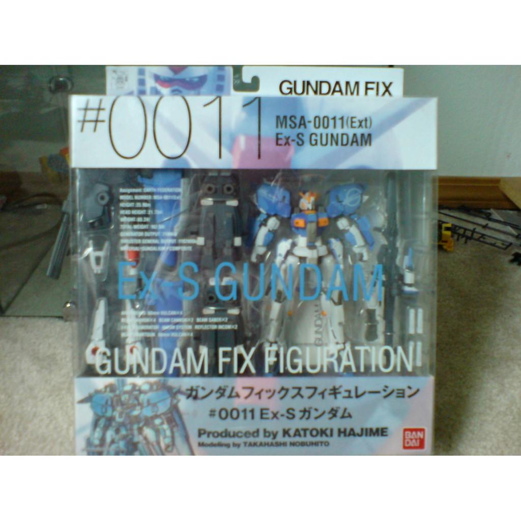 GUNDAM FIX FIGURATION GFF #0011 Ex-S Gundam(日版)
