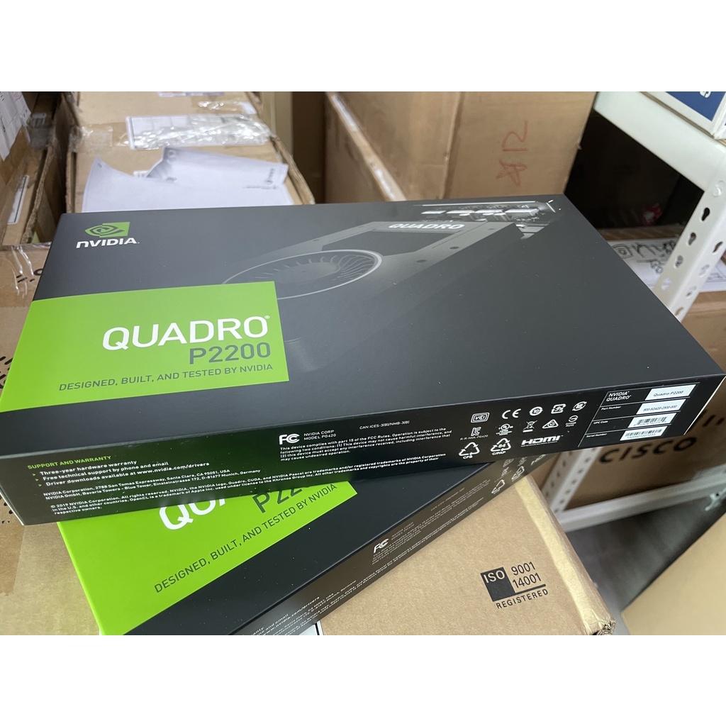麗台 NVIDIA QUADRO P2200 5G 專業繪圖卡