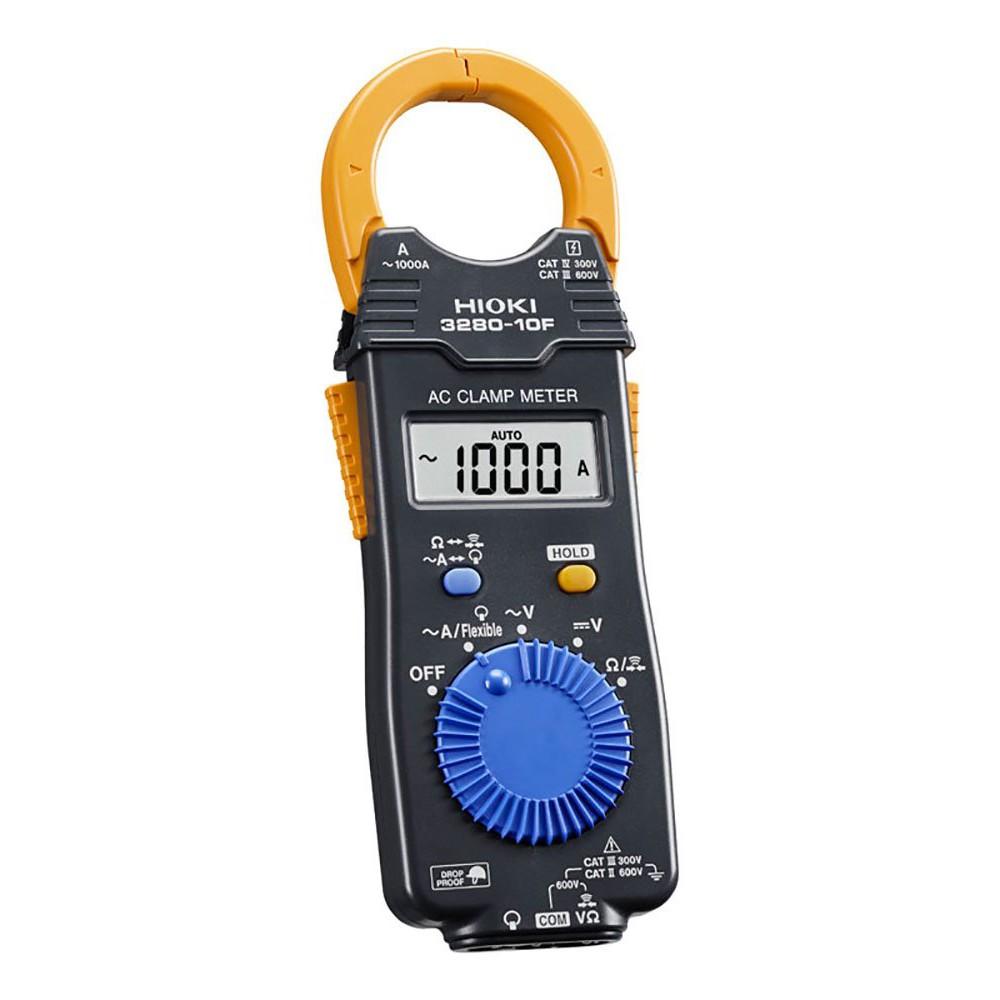 ''電筒家族''公司貨 日本製 HIOKI 3280-10F 薄型交流 鉤錶 電錶 (可一米防摔)