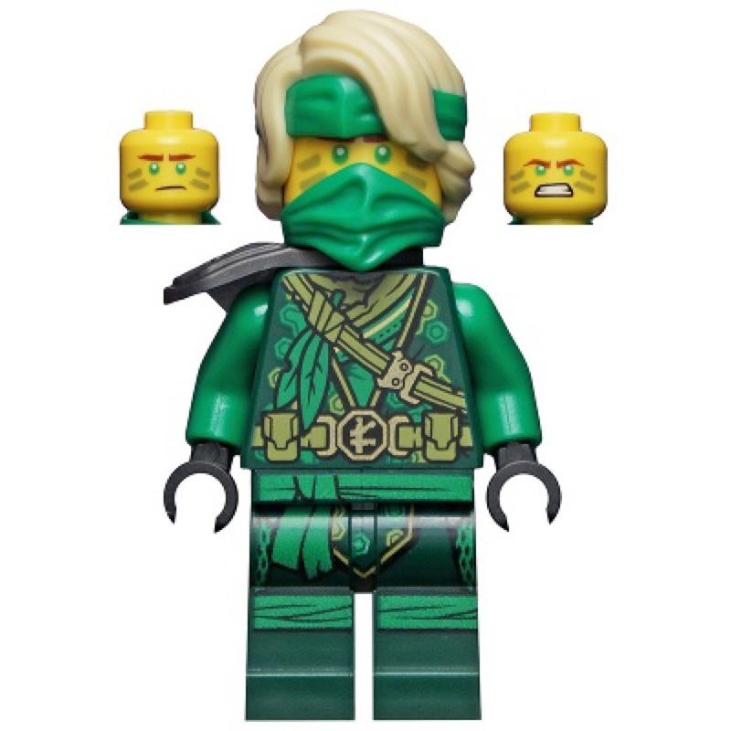 小金獅 LEGO 綠忍者 勞埃德 附武器 71746 71745