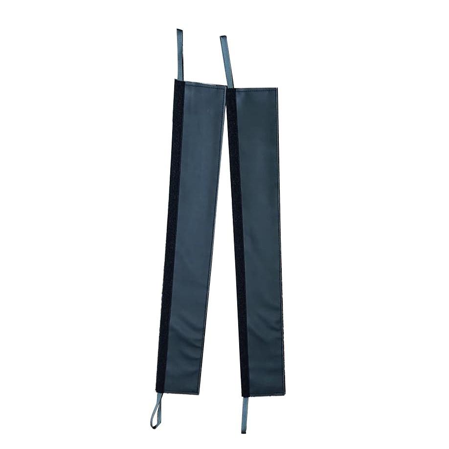 康迪亞 concordia 單繩保護繩套(附不鏽鋼夾具) 一組兩條 全黑色