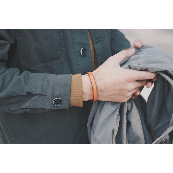 手工植鞣手環