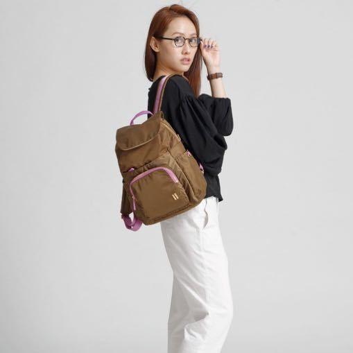 ☆美國SUMDEX☆人體工學設計 高級後背包 網路最低價 經典 商務 都會 時尚 後背包 筆電包 765TK 咖啡色
