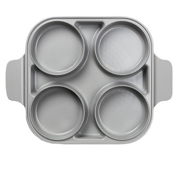 (代購) Neoflam 雙耳四格多功能煎鍋含蓋 28 公分