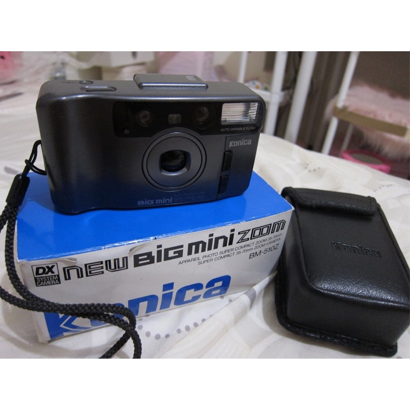 konica big mini zoom bm-512z 底片相機