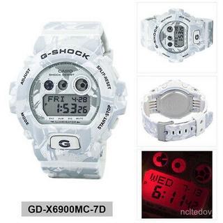 正版Casio卡西歐男士G SHOCK迷彩數字運動手錶GD-X6900MC-7D 桃園市