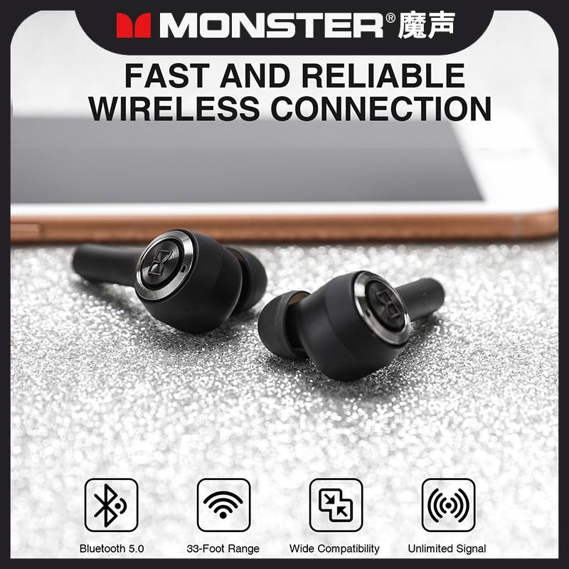【原廠正品現貨】魔聲Monster Clarity 102 Airlinks 主動降噪真無線藍牙雙入耳式耳機保固一年