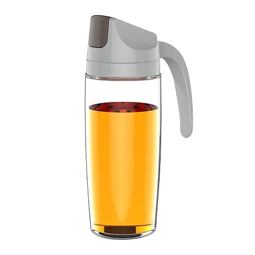 自動開合倒油瓶(大-600ml)1入 顏色隨機出貨【小三美日】D021780