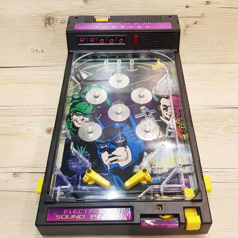 ⭐喔啦玩具店⭐KENNER 蝙蝠俠 彈珠台 謎天大聖 1995年  彈珠 老玩具 玩具 公仔 美國 BATMAN