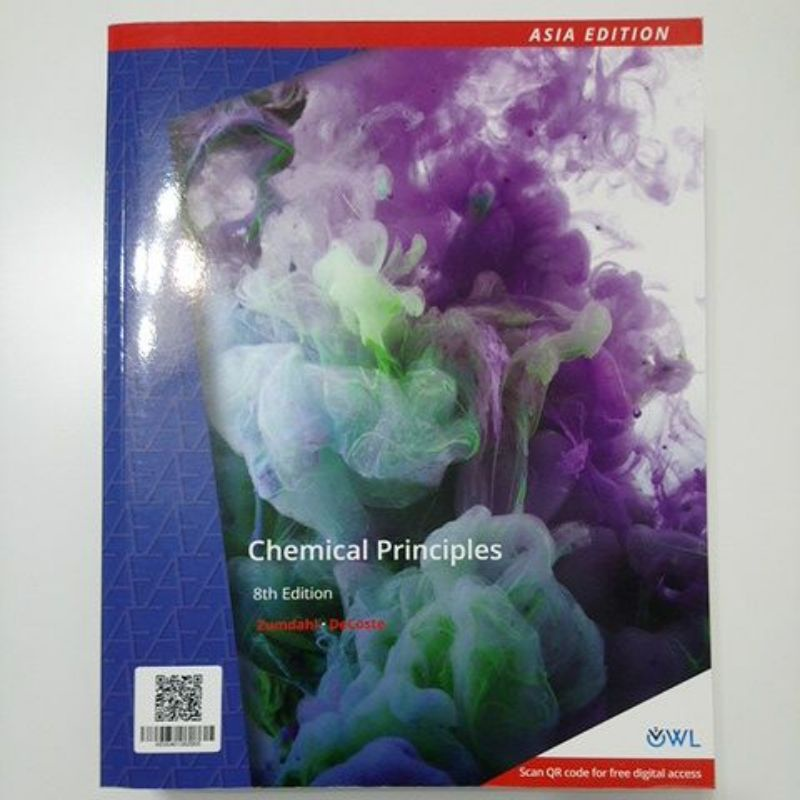Chemical Principles 8/e  Asia Edition   Zumdahl  DeCoste