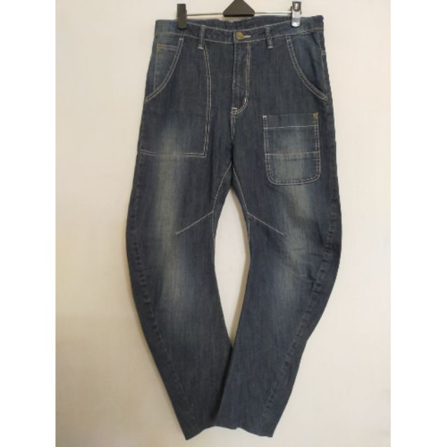 La new伸縮布牛仔褲