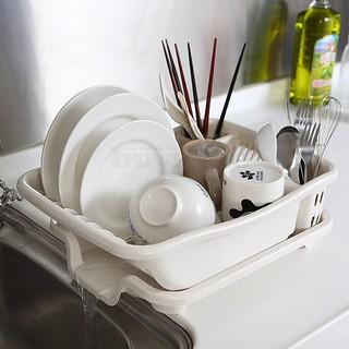 【樂樂生活精品】【生活采家】排水式碗盤收納瀝水架#16172 免運費! (請看關於我) 桃園市